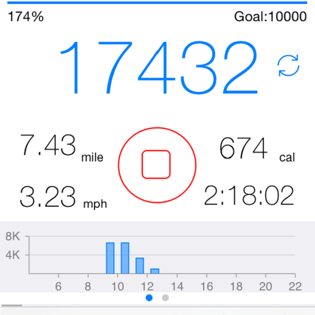 free pedometer app for iphone 4s