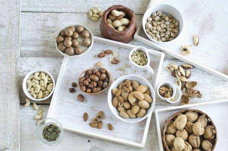 Various sorts of nuts