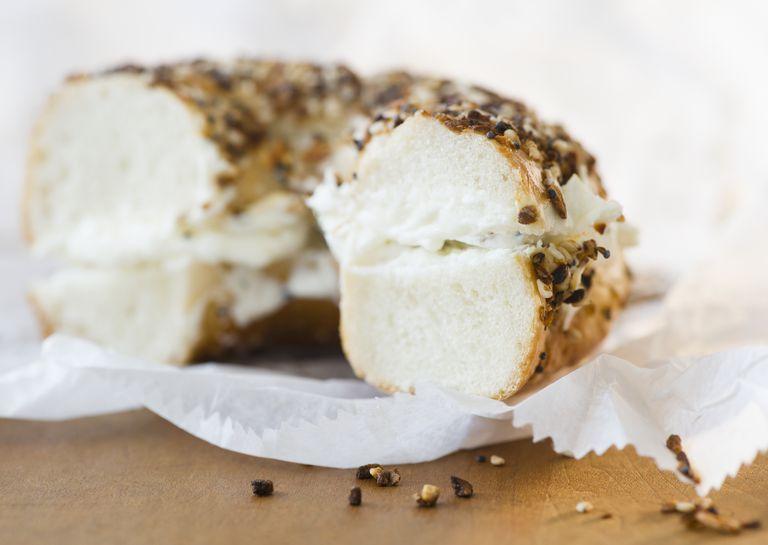 bagel nutrition