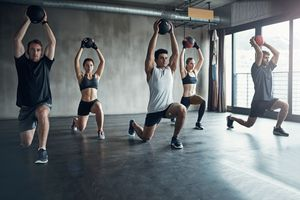 Functional movement lunges