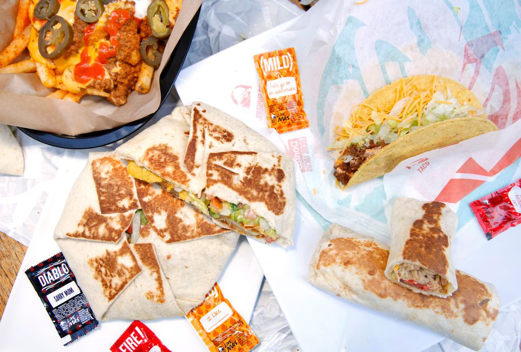 Taco Bell Nutrition Facts Healthy Menu Choices For Every Diet