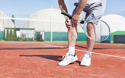 Tennis Knee Injury