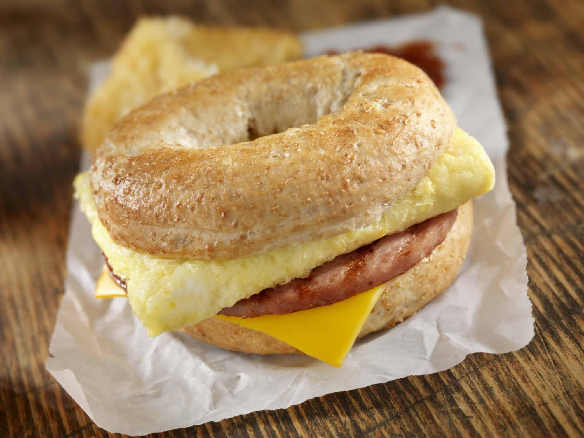 Sándwiches de desayuno