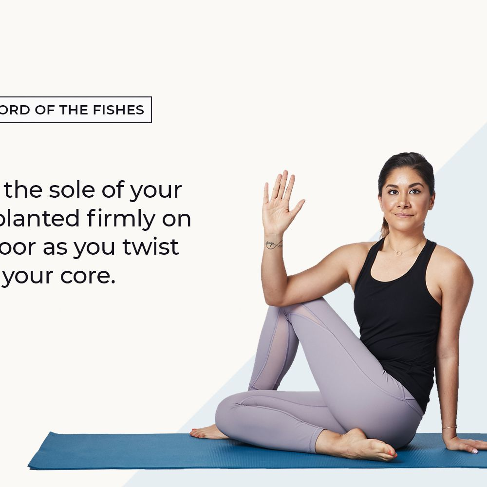 How to Do Half Lord of the Fishes Pose (Ardha Matsyendrasana) in Yoga