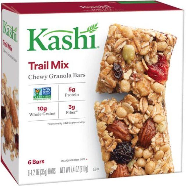 Barras de granola masticables Kashi