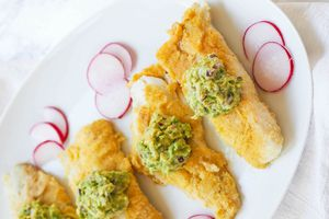 Oven-Fried Cod
