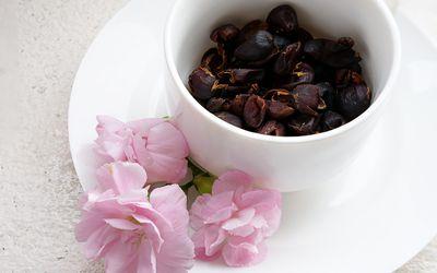 cascara or coffee cherry tea