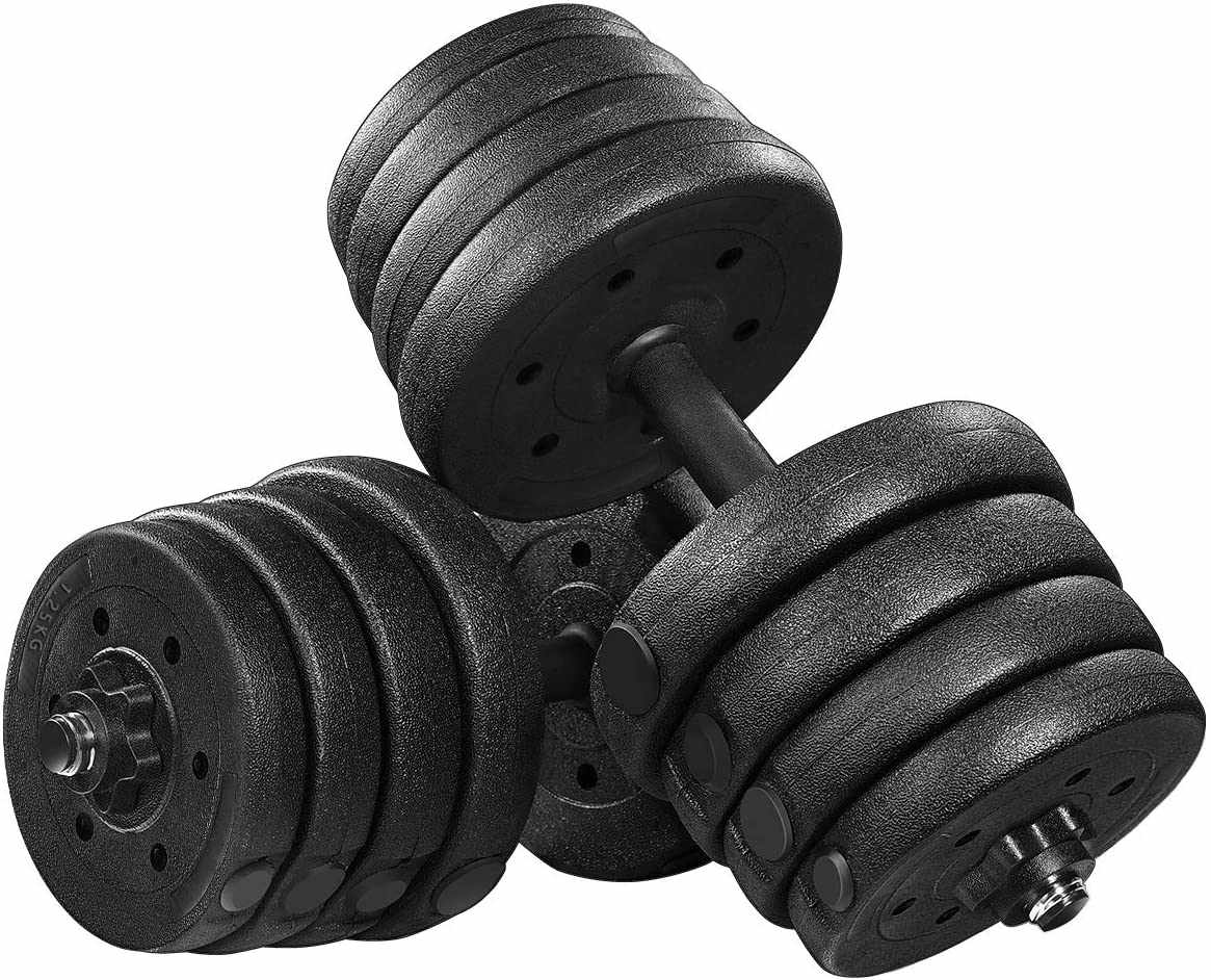 Besportble Adjustable Dumbbell Set