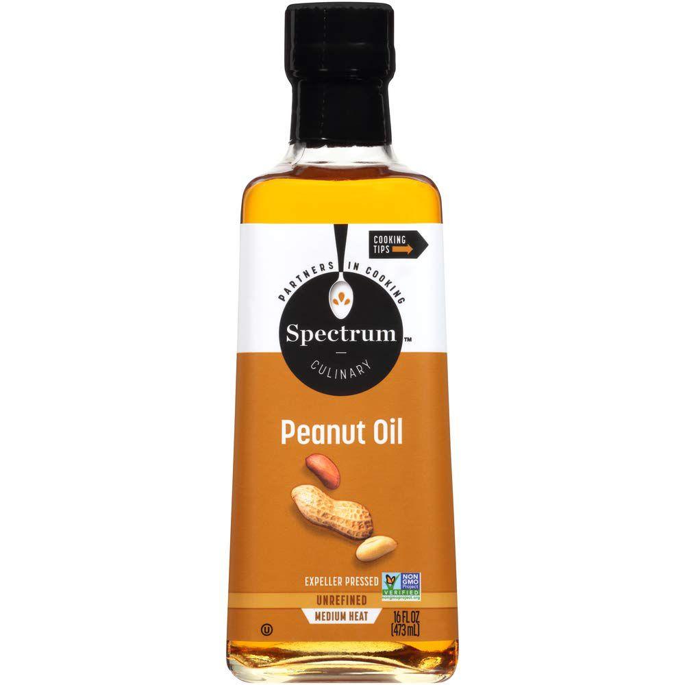 Spectrum Unrefined Peanut Oil