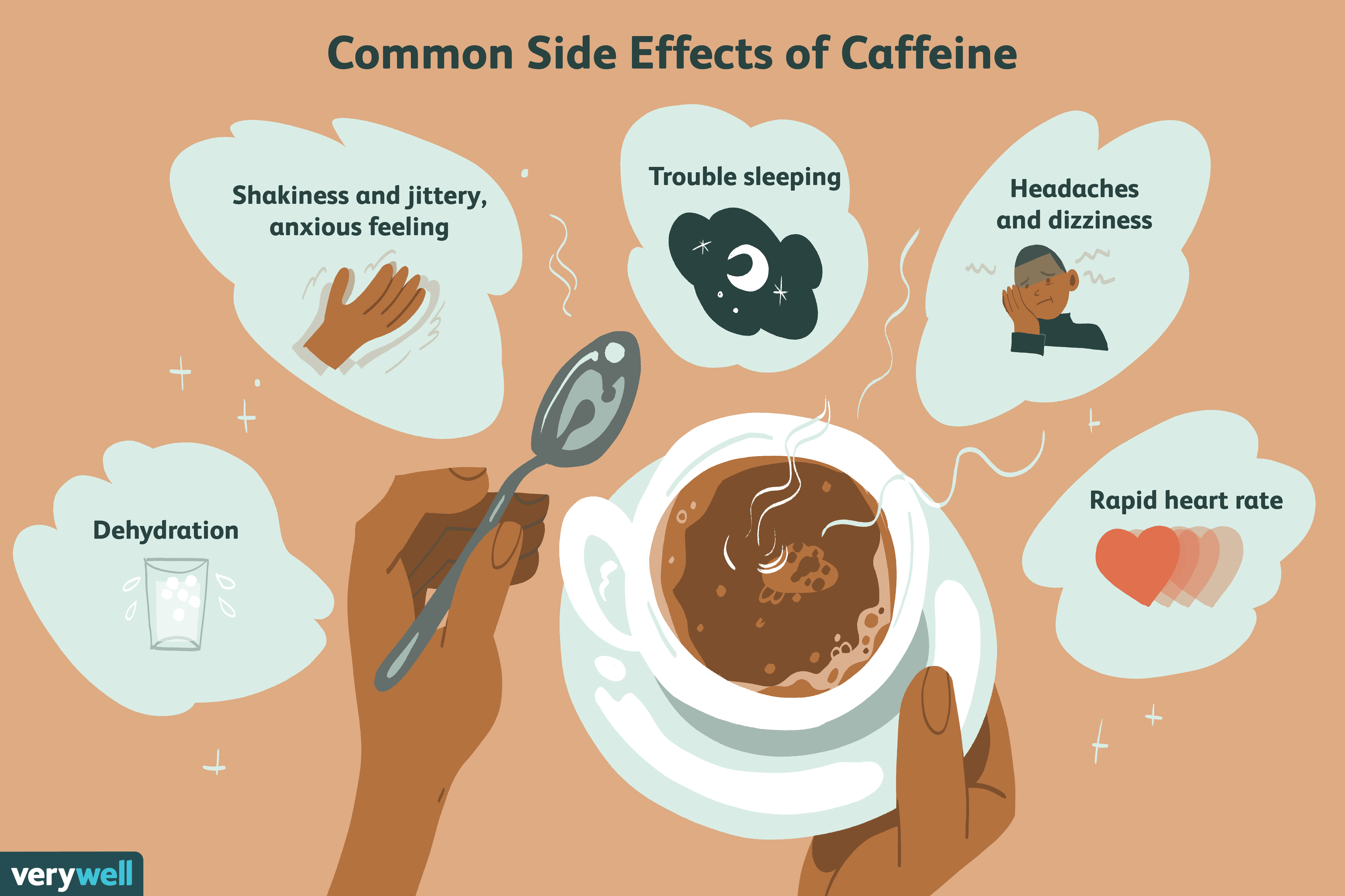 common side effects of caffeine