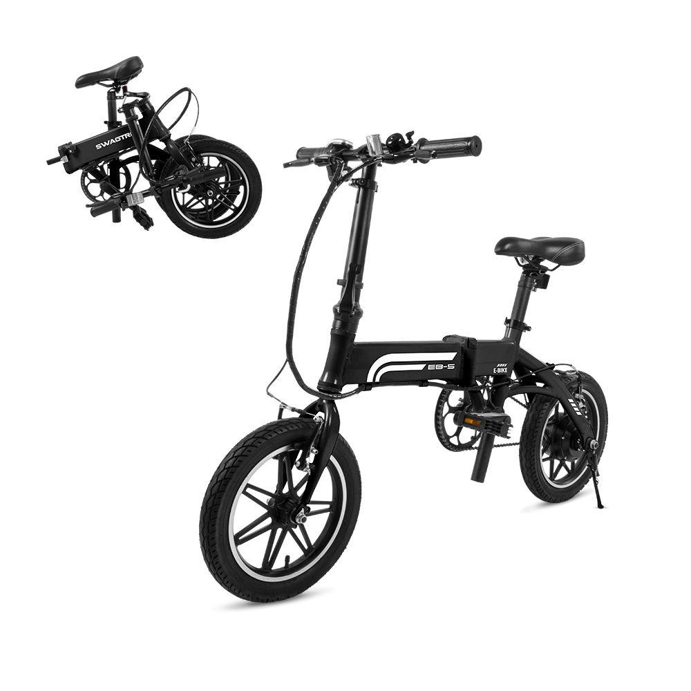 Swagtron EB5 14-inch Folding Electric Bike