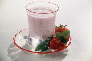 strawberry protein shake