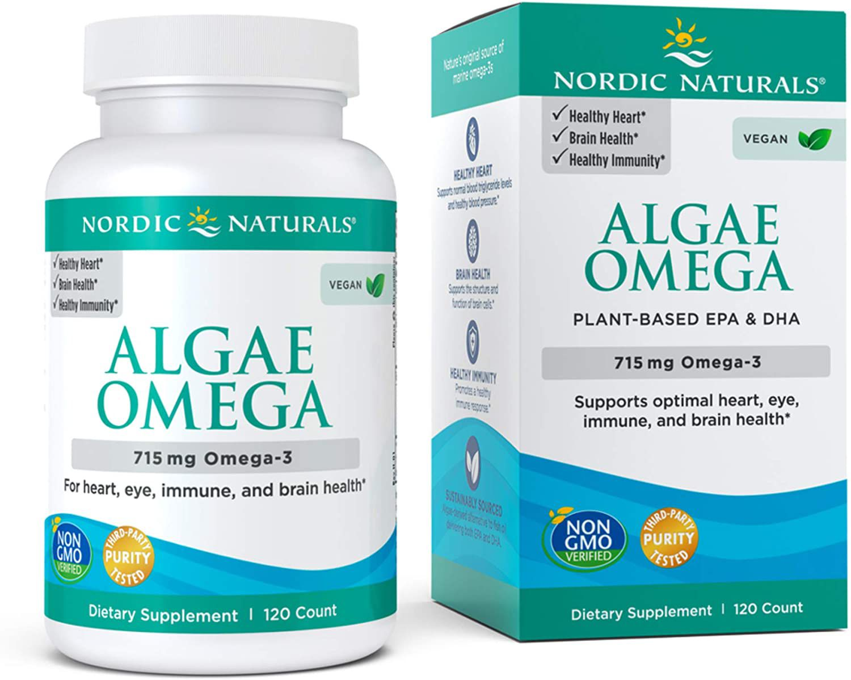 Nordic Naturals Algae Omega 715 mg Omega-3 - Plant-Based EPA & DHA