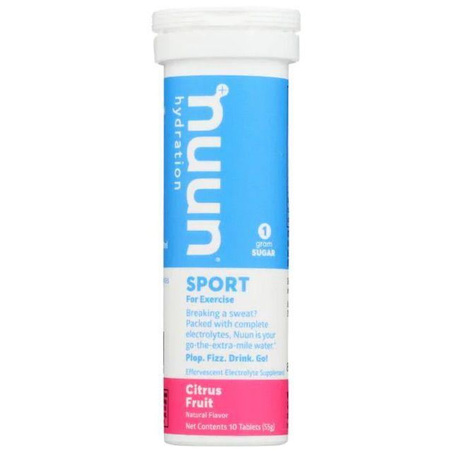 Nuun sport electrolyte drink tablets