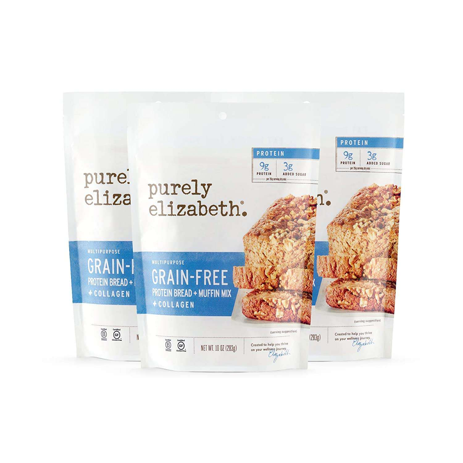 Purely Elizabeth Protein Bread and Muffin Mix