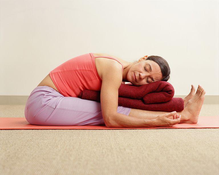 Restorative Yoga Posture