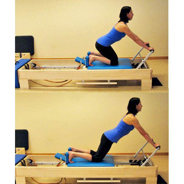 Pilates knee stretches