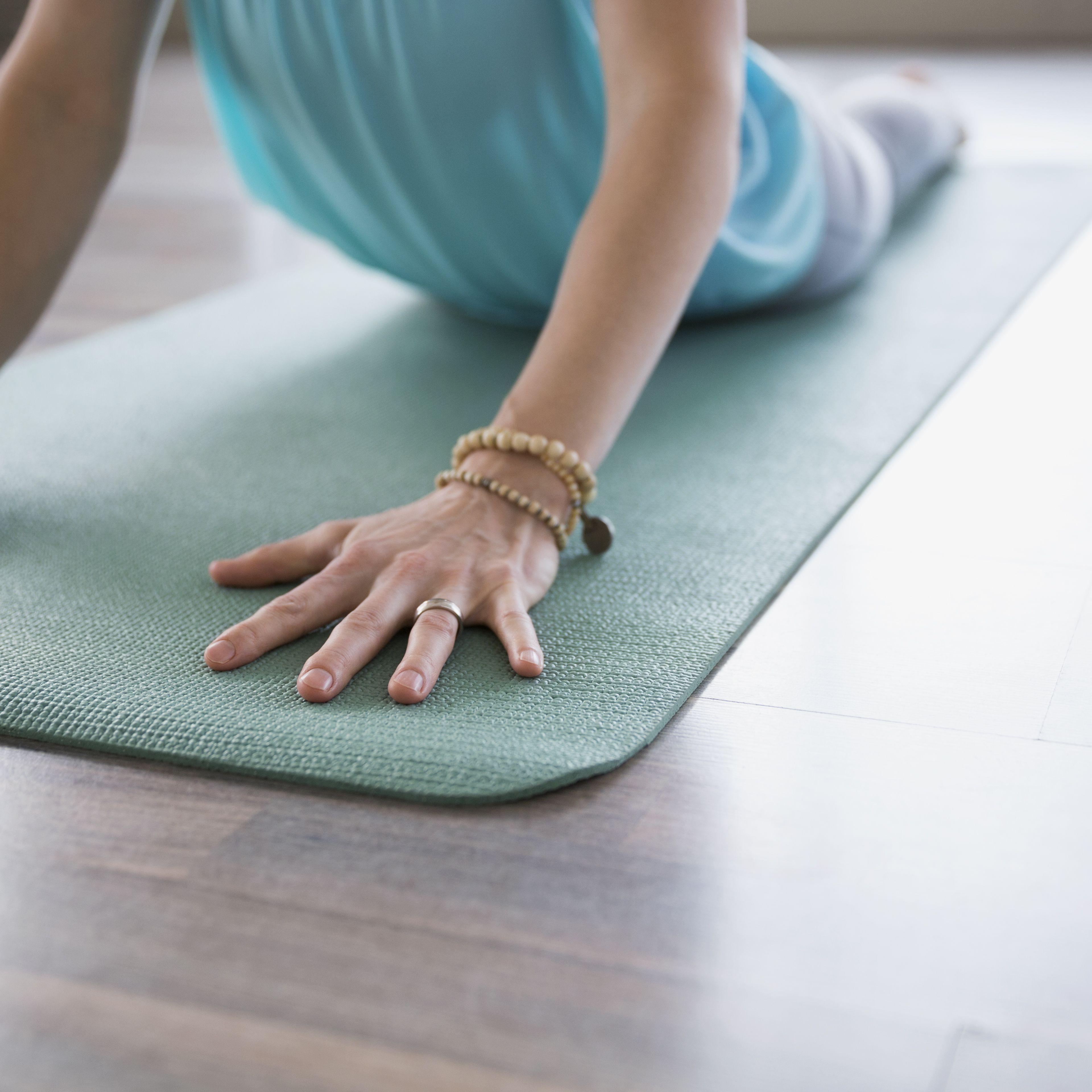 c8600cfea8 How to Fix a Slippery Yoga Mat