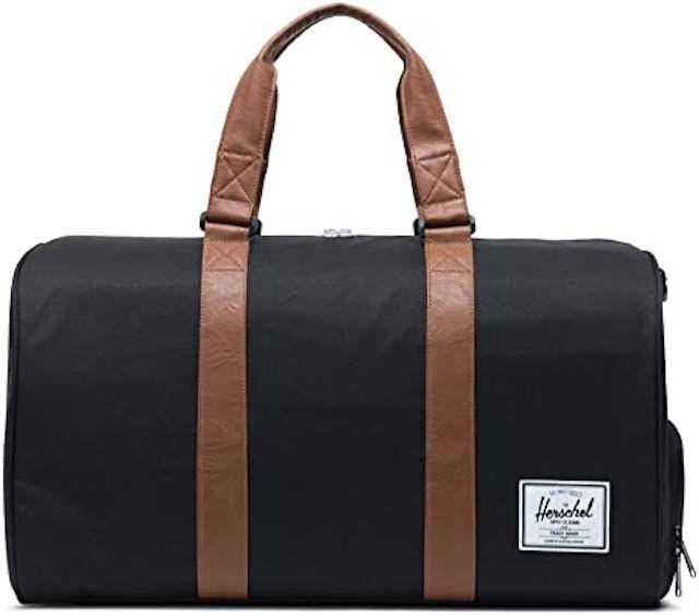 Herschel Black Novel Duffel Bag
