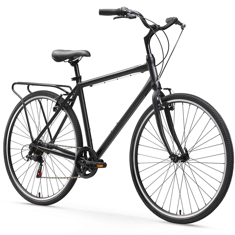 Sixthreezero Explore Your Range Bicicleta híbrida de cercanías de 7 velocidades para hombre