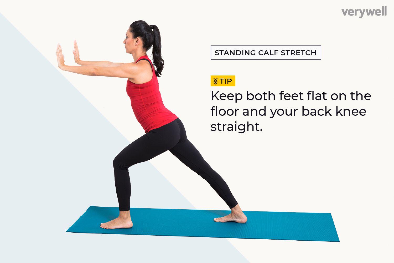 Standing Calf Stretcg