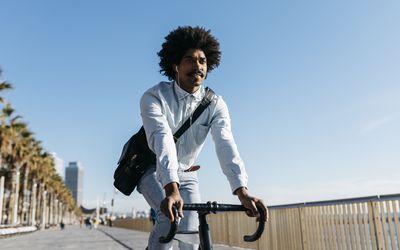 Bike commute to work