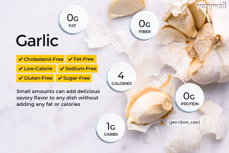 garlic nutrition facts and health benefits