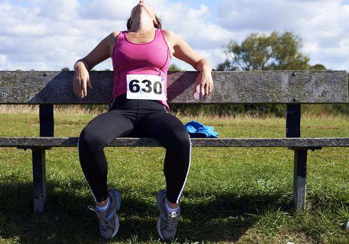 el atleta sedentario