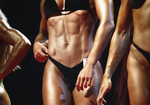 How Severe Weight Loss Affects Female Bodybuilding