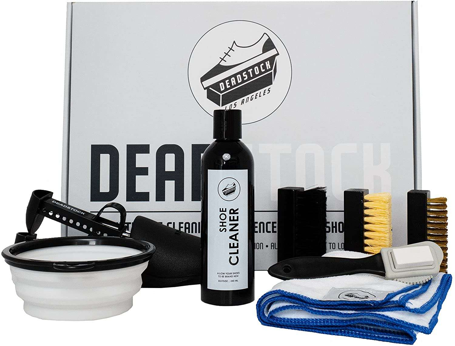 Deadstock Los Angeles Shoe Cleaner Kit - Sneaker Cleaner Ultimate Cleaning Experience