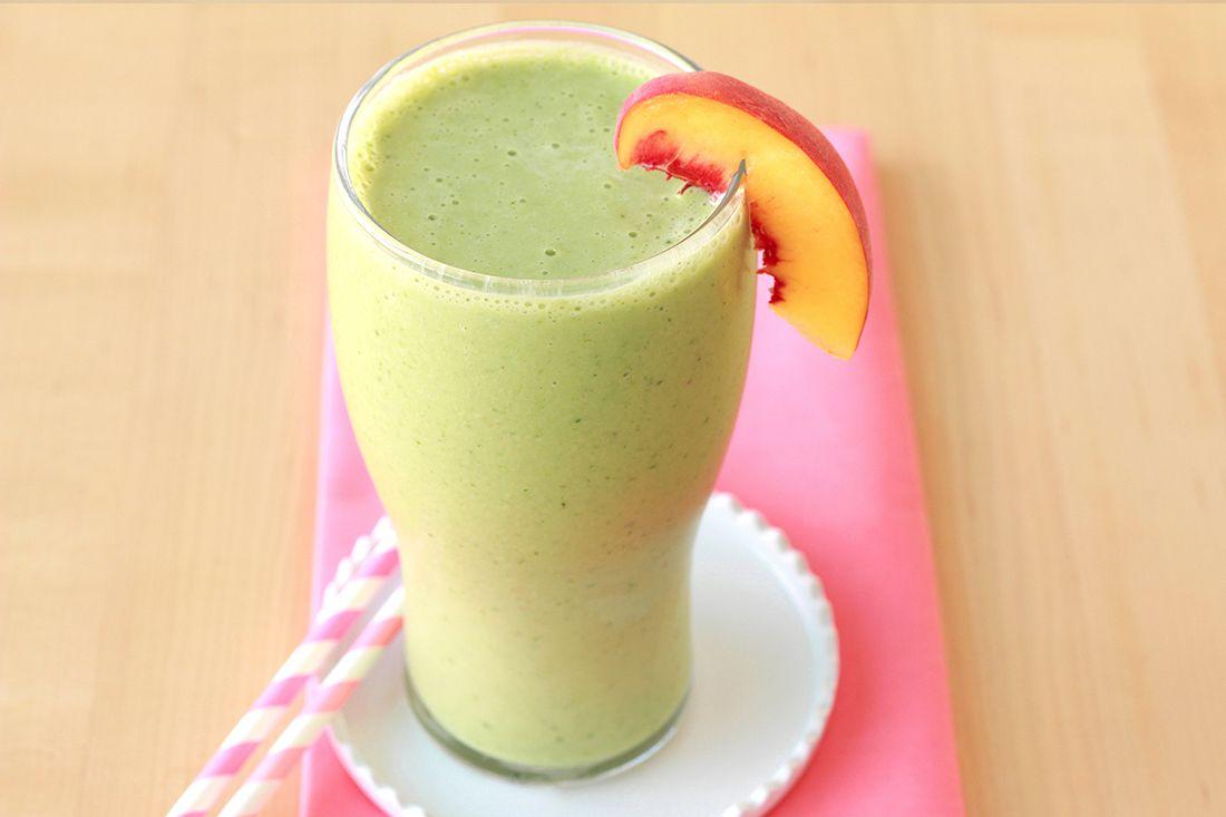 Desayuno sin cocinar: batido verde afrutado