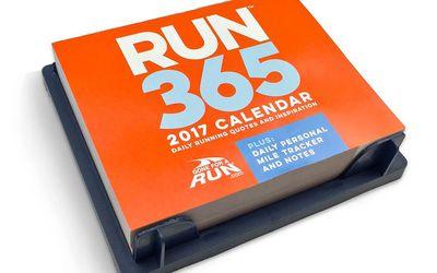 2017 Runners Desk Calendar