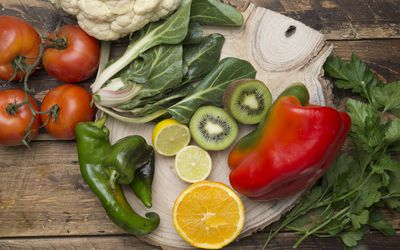 Food sources of vitamin C