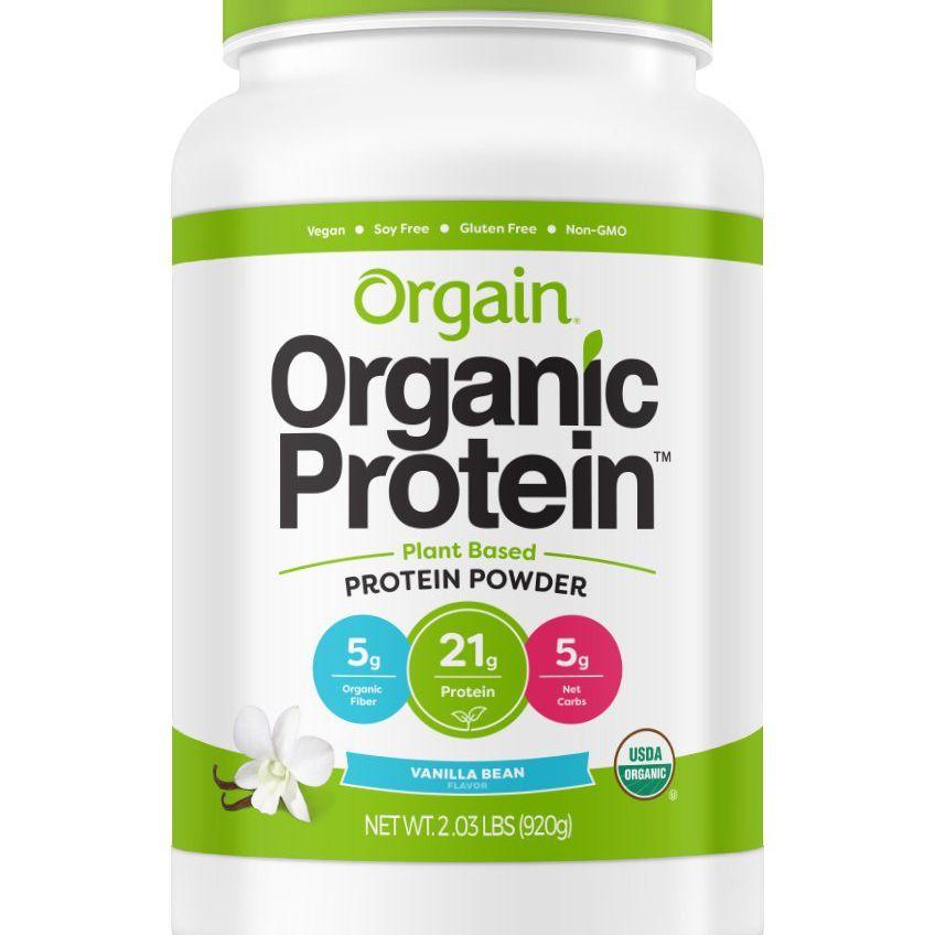 polvo de proteína de orgain