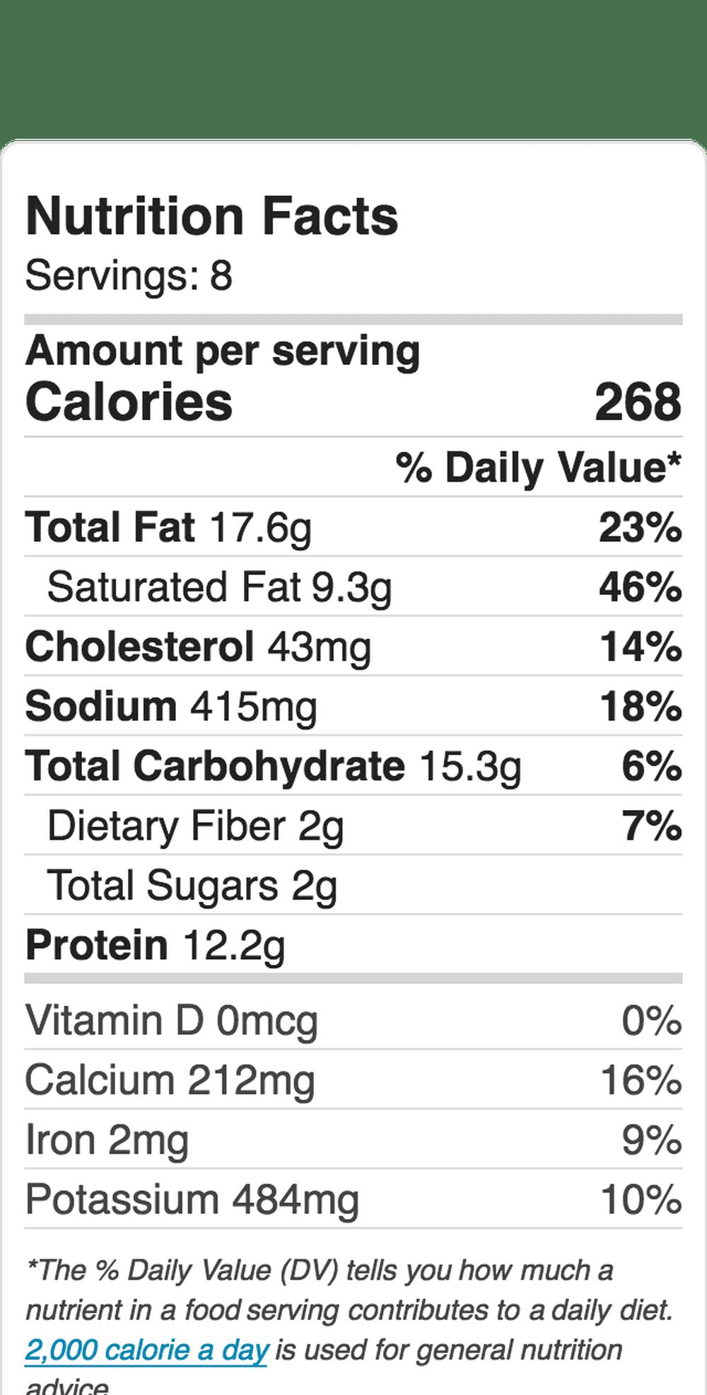 Nutrition Label Embed 1583001986 5B47Ad61C9E77C005B3D150E