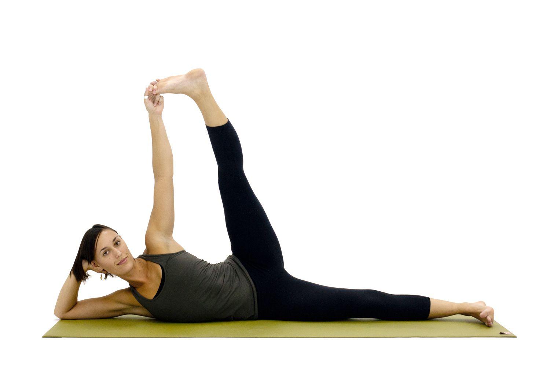 Yoga Poses for Hamstrings: Sleeping Vishnu - Anantasana