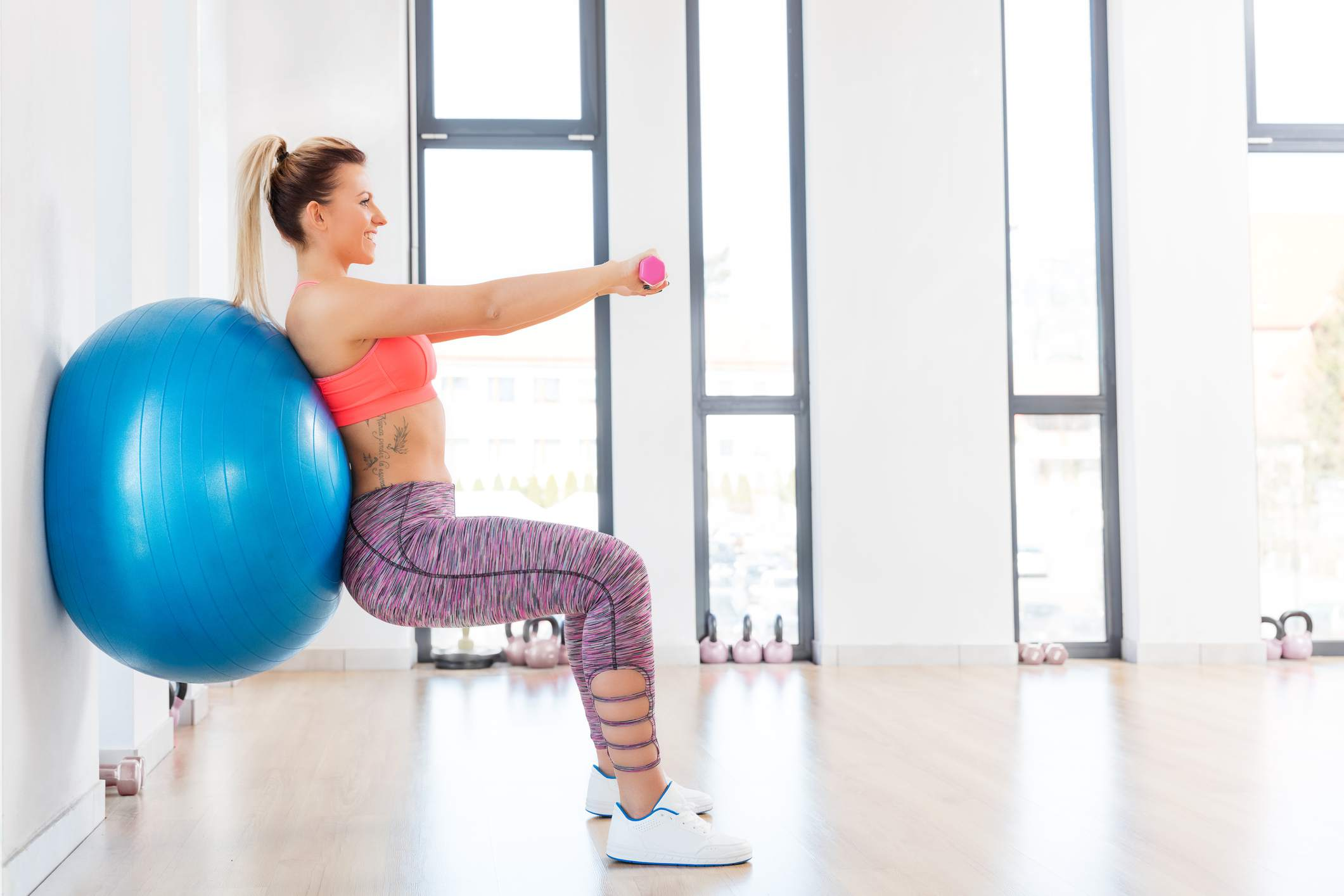 Beginner Ball Workout For Stability And Strength
