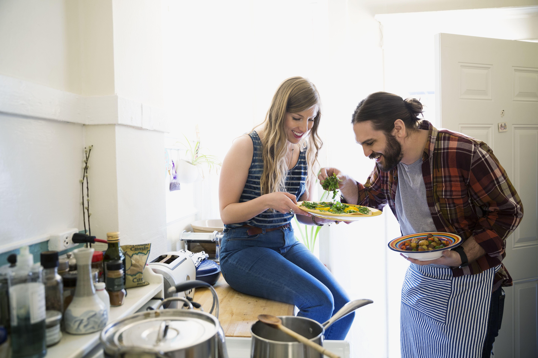 Par cocinar en la cocina