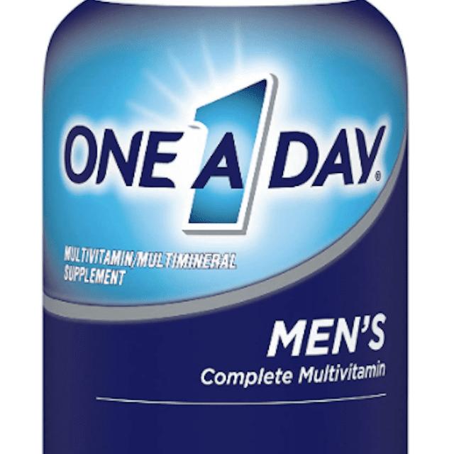 Multivitamínico completo para hombres One A Day