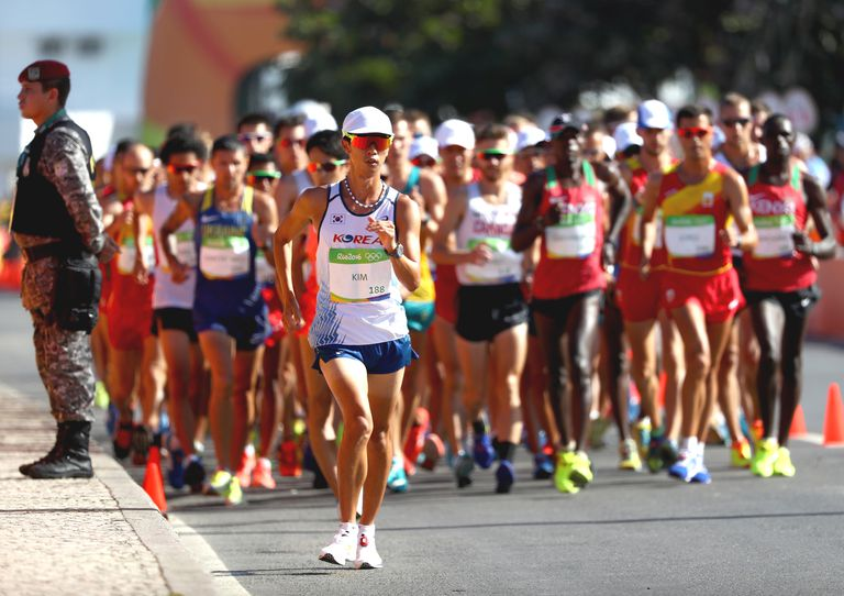Race walking at the Rio 2016 Olympic Games