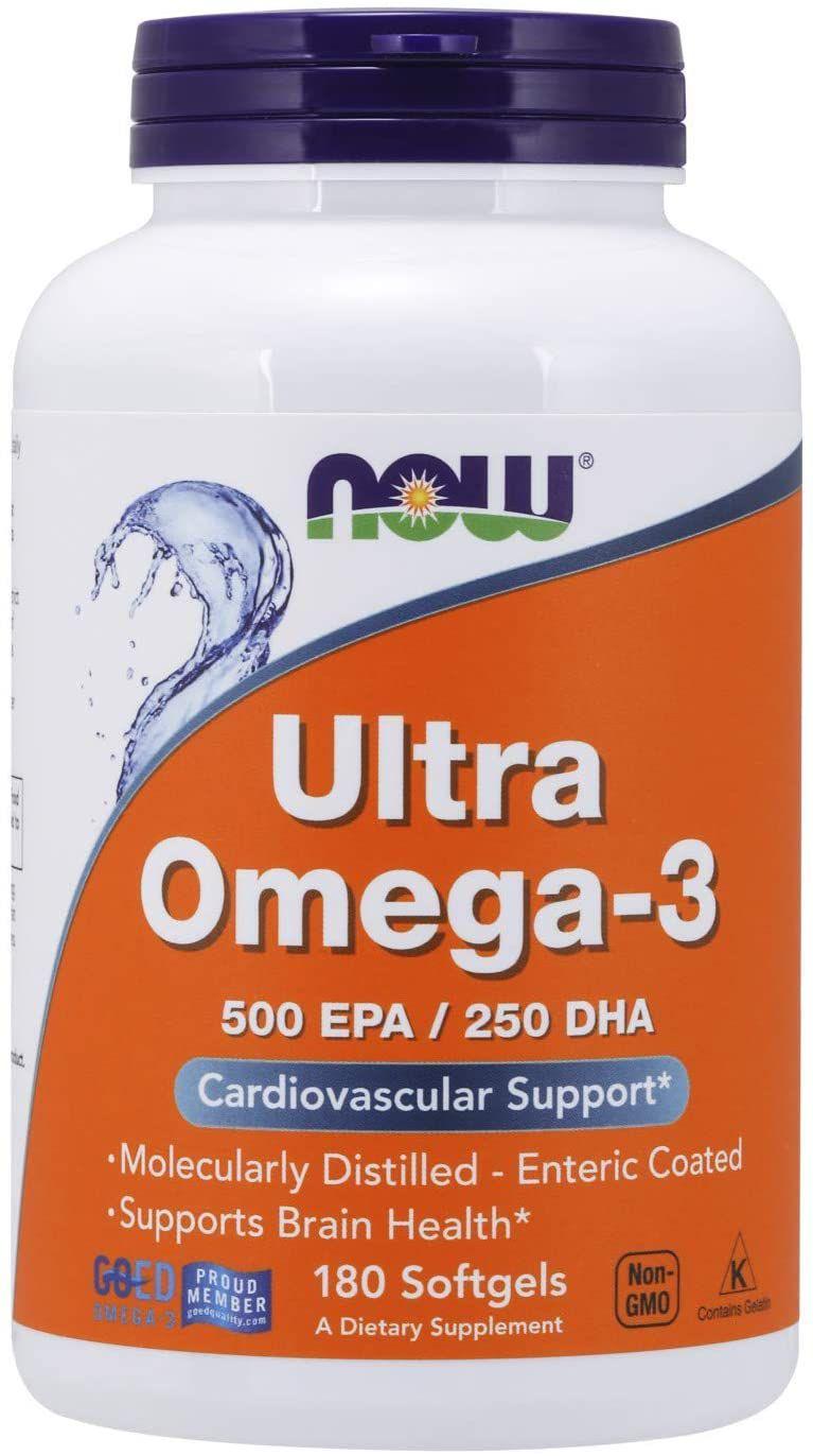 Now Foods Ultra Omega-3 500 EPA/250 DHA