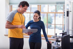 Schedule a progress check with your personal trainer so you can stay on track.