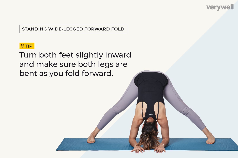 Standing Wide-Legged Forward Fold