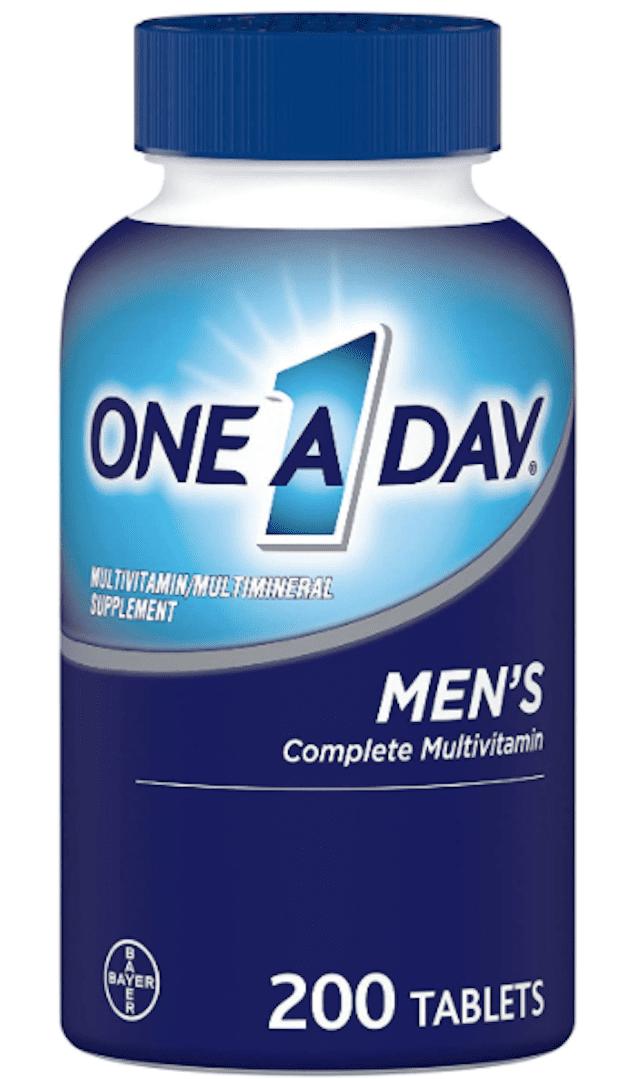 One A Day Men's Complete Multivitamin