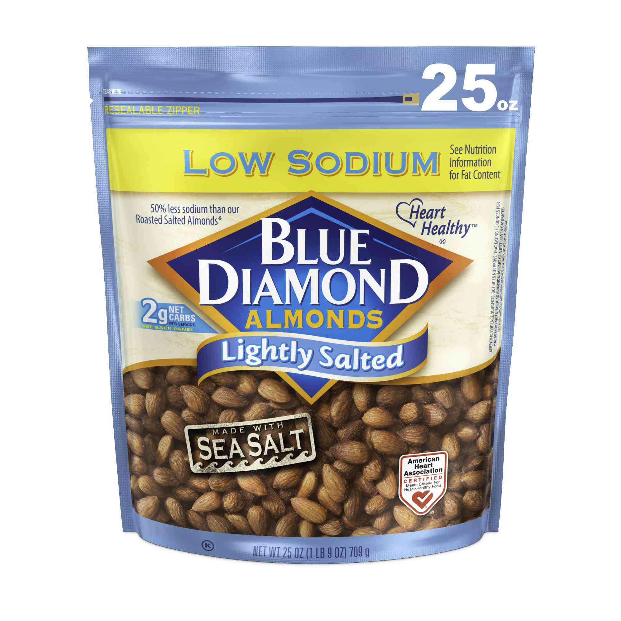 Blue Diamond Almonds, Lightly Salted