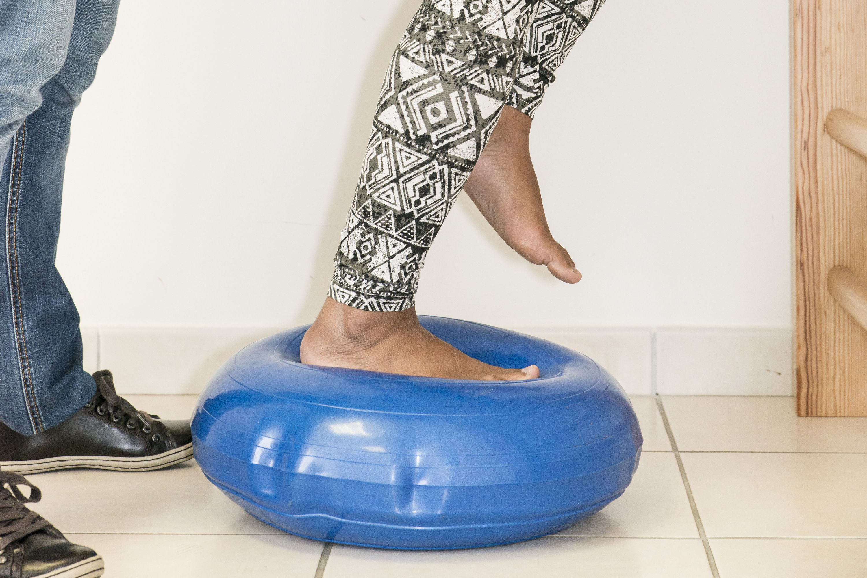 Wobble Balance Board Stability Disc Yoga Pro Training Muscle Fitness Exercise