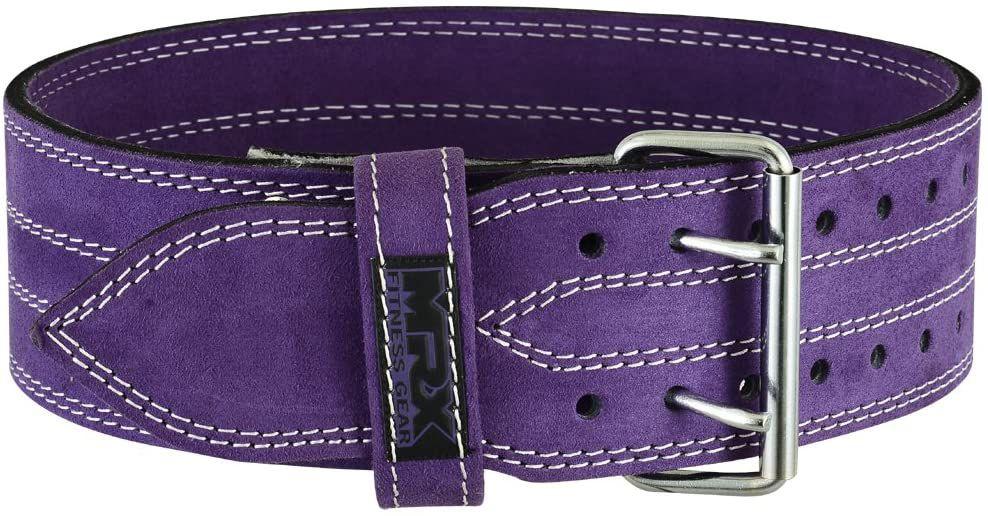 MRX BOXING & FITNESS Powerlifting Leather Belt