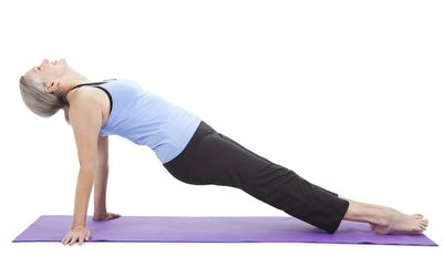 how to do the reverse plank exercise