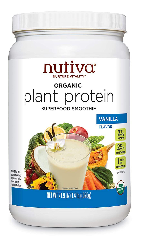 Nutiva Organic Plant Protein Powder