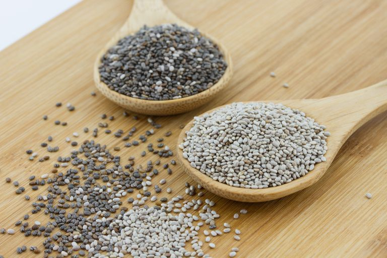 choosing white or black chia seeds